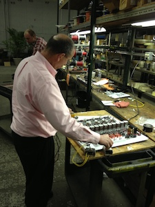 0 bill inspecting controls in electric dept in shop