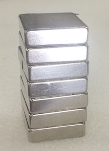 RECTANGULAR MAGNET STACK SHINY